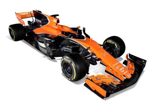 Nova McLaren estreia nova pintura com a cor laranja predominando. Foto: McLaren media