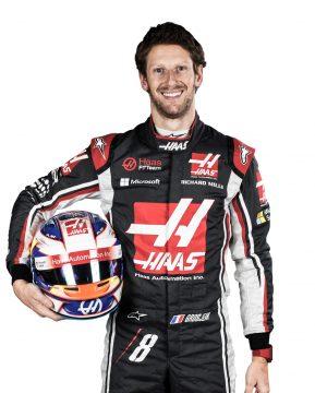 Romain Grosjean ? o piloto n?mero 1 da equipe. Foto: Haas media