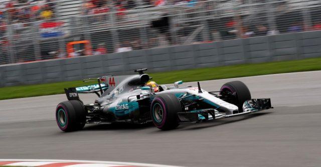 Azar de Sebastian Vettel da Ferrari favoreceu a Lewis Hamilton da Mercedes. Foto: Wolfgang Wilheim - Mercedes