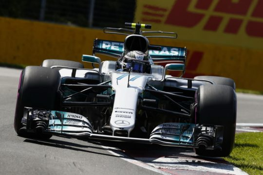 Valteri Bottas da Mercedes fez uma corrida bem discreta, mas chegou na segunda coloca??o. Foto: Mercedes AMG - Wolfgang Wilhelm