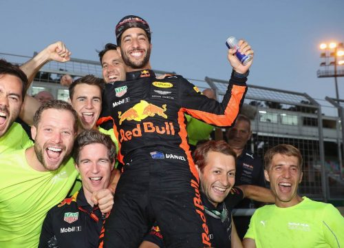 Daniel Ricciardo vence a o GP do Azerbaij?o. Foto: Mark Thompson/Getty Images) // Getty Images / Red Bull Content Pool // P-20170625-01296 // Usage for editorial use only // Please go to www.redbullcontentpool.com for further information. //