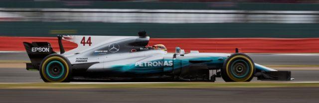Lewis Hamilton venceu o GP da Inglaterra de ponta a ponta. Foto: Mercedes AMG