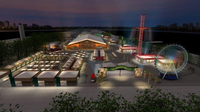 A Oktoberfest é de grande porte e ocupará todo o sambódromo do Anhembi. Foto: Divulgação