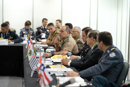 Equipamentos de segurança para o governo também serão expostos. Foto: ISC