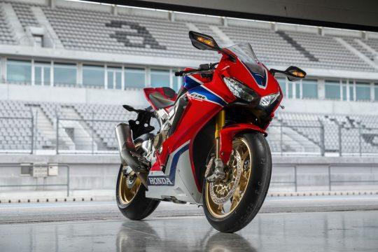 Honda Fireblade a grande vencedora este ano. Foto: Honda