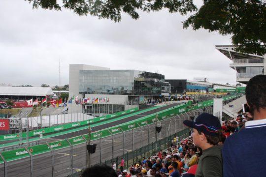 A largada para o GP Brasil de F-1 está prevista para às 14h. Foto: Amauri Yamazaki