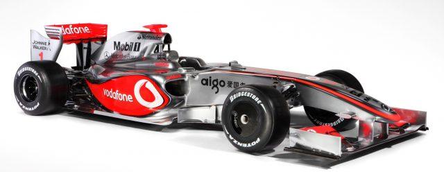 A McLaren já utilizou os motores Mercedes no passado, quando Lewis Hamilton pilotava para a equipe. Foto: McLaren