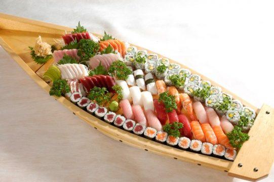 Sushi Yassu o restaurante japonês frequentado pelos diretores das multinacionais japonesas no Brasil. Foto: Divulgação