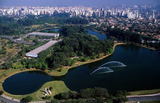 Parque Ibirapuera em São Paulo. Foto; Divulgação