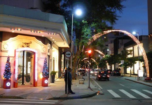 Rua Oscar Freire, a rua mais badalada em termos de moda em São Paulo. Foto: Divulgação