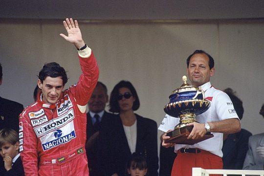 A era de ouro de Ayrton Senna foi com Ron Dennis na McLaren. Foto: Divulgação