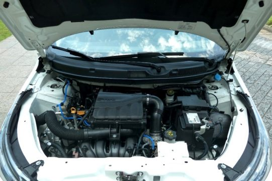 Motor 1.8, 4 cilindros, transversal, 16V, com 139 cv de potência máxima com etanol. Foto: Amauri Yamazaki