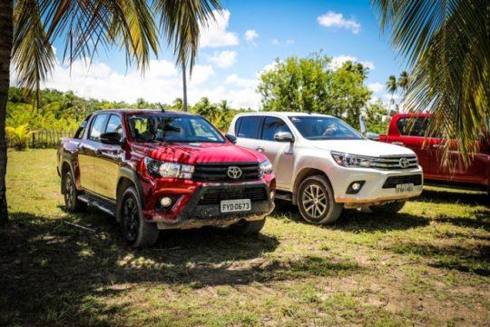 Veículos com tração 4 x 4 são ideais para visitar a região. Foto: Rafael Munhoz