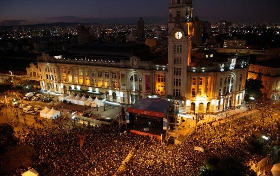 Palcos estão montados em diversas áreas da cidade de São Paulo. Foto: Divulgação