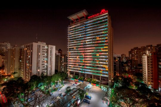 Hotel Maksoud Plaza. Foto: Daniel Pinheiro.