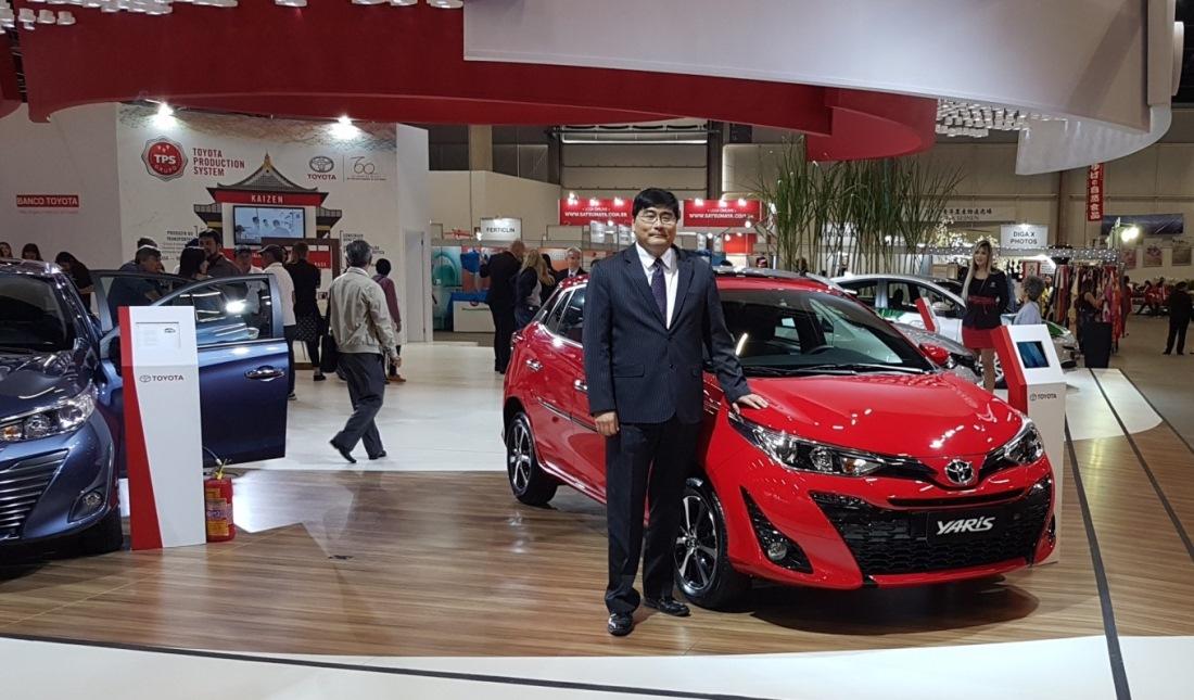 Celso Simomura - Vice Presidente de Compras, Logística e Relações Públicas da Toyota do Brasil. Foto: Amauri Yamazaki