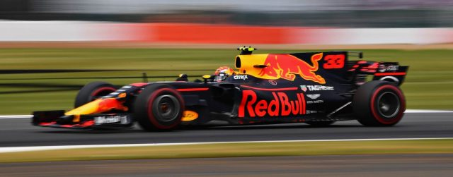 59b29a743a Max Verstappen da RBR RB13 TAG Heuer on track during the Formula One Grand  Prix of