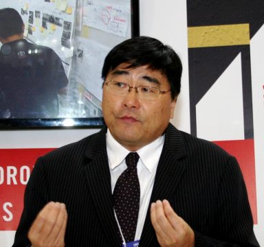 Celso Simomura - Vice-Presidente da Toyota do Brasil. Foto: Amauri Yamazaki